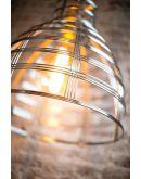 Molfetta Hanglamp Zwart D50xH51 cm (Max. 75w) Plafondlamp