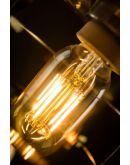 Matino Plafondlamp goud (max 60w) Hanglampen