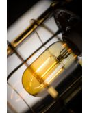 Matino Plafondlamp goud (max 60w) Plafondlamp