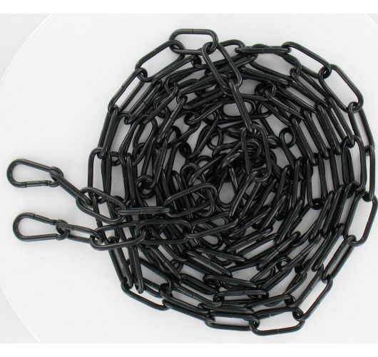 Ketting Molfetta 3/8 20x47 mm 3.5 meter Zwart Losse pendels