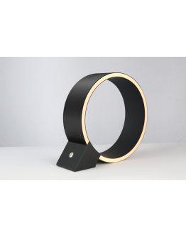 The Q tafellamp zwart | 30 cm