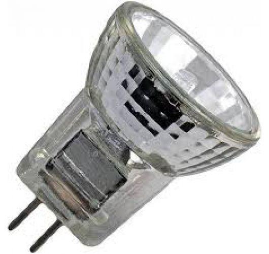 Global-Lux koudlichtspiegel MR8 25mm 12V 10w 32Gr. lengte 36mm long type 44880 Halogeenlampen