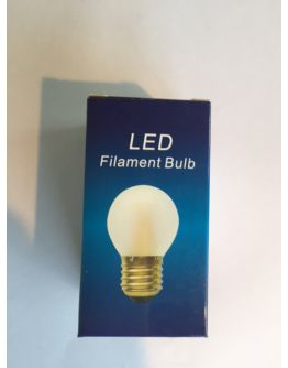 Kogellamp LED 1W (=10W) E27 Mat