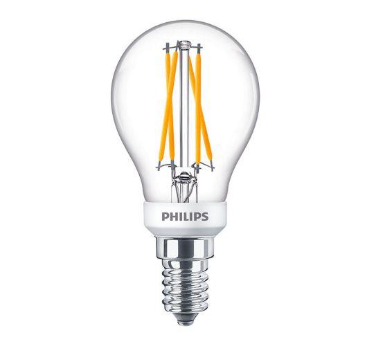 Philips LEDluster E14 3,5W Helder | 2200-2700Kelvin - vervangt 25W Ledlampen
