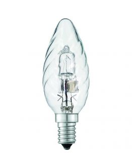 Philips EcoClassic B35 kaarslamp gedraaid 18W (25W) E14 helder