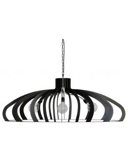 Catania Hanglamp Staal - Ztahl by Dijkos
