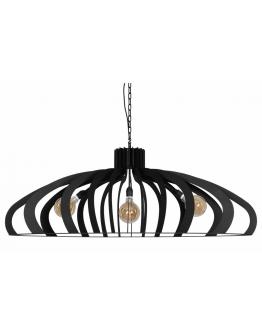 Catania Hanglamp Zwart - Ztahl by Dijkos