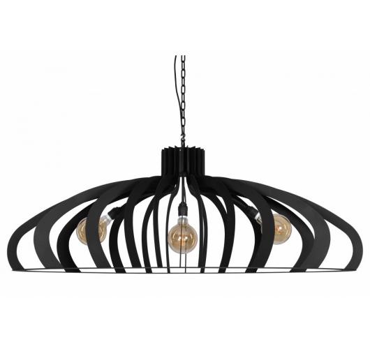 Catania Hanglamp Zwart - Ztahl by Dijkos Dijkos