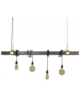 Staletti Hanglamp - Zwart Staal - Ztahl by Dijkos - OP=OP