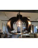 Catania Hanglamp - Zwart Gelakt Staal - Ztahl by Dijkos Plafondlamp