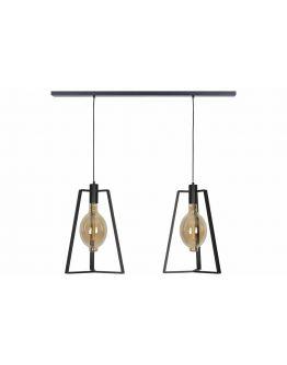 Trevi Hanglamp 2 Lichts - Ztahl by Dijkos