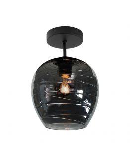 Highlight Plafondlamp Fantasy Enkel Ø 21 cm | Rookglas