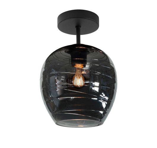 Highlight Plafondlamp Fantasy Enkel Ø 21 cm | Rookglas Plafonnières