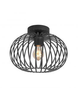Highlight Plafondlamp Bolato Ø 30cm | Zwart