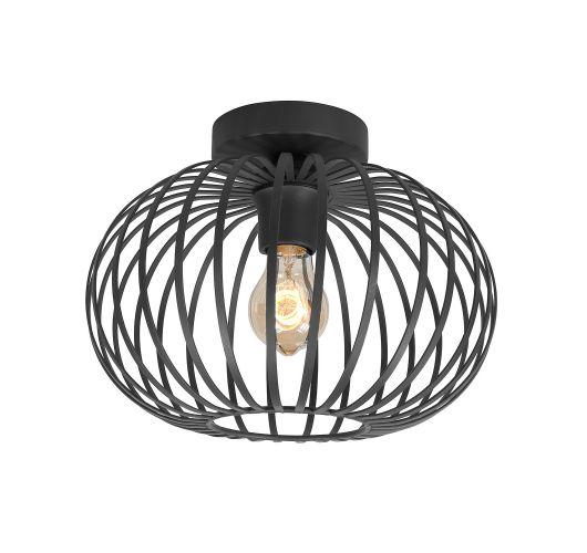 Highlight Plafondlamp Bolato Ø 30cm | Zwart Plafonnières
