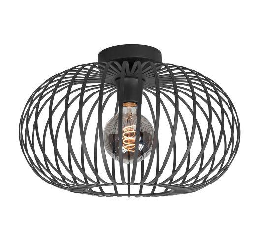 Highlight Plafondlamp Bolato Ø 38cm | Zwart Plafonnières