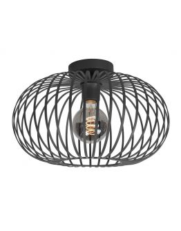 Highlight Plafondlamp Bolato Ø 50cm | Zwart