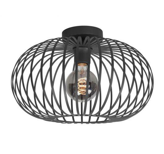 Highlight Plafondlamp Bolato Ø 50cm | Zwart Plafonnières