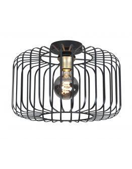 Highlight Plafondlamp Lucca Ø 40cm | Zwart