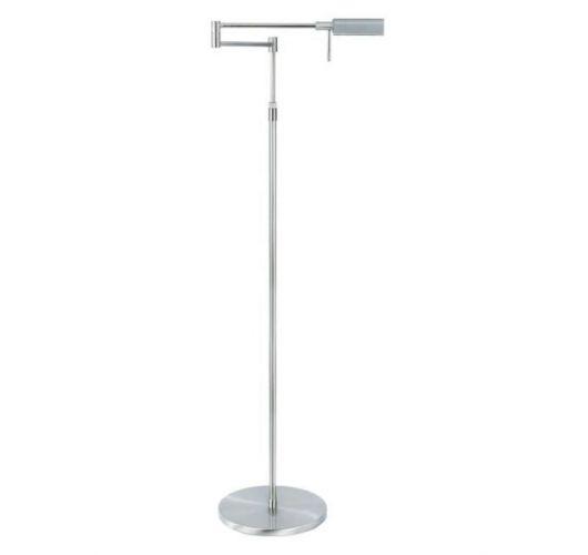 Highlight Vloerlamp New Bari up/down LED | Nikkel Mat Vloerlampen
