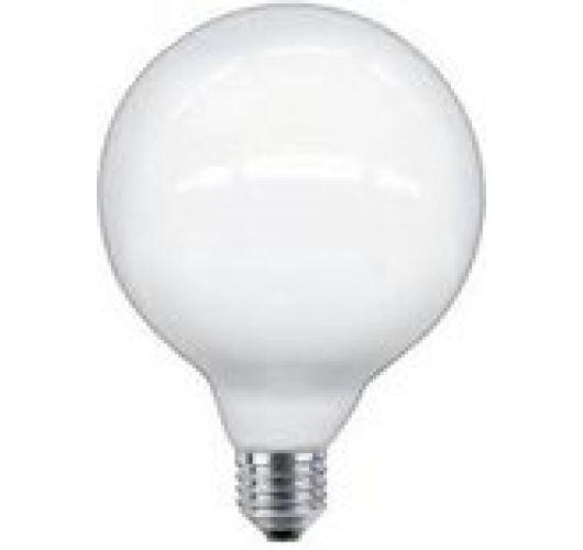 Globe LED 125mm 4W(40W)  230V 2700K opaal dimbaar Ledlampen