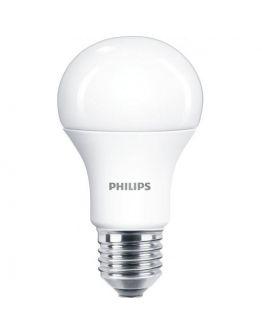 Philips led standaard E27 8.5w/60w mat warmglow dimbaar dimtone 2700k naar 2200k
