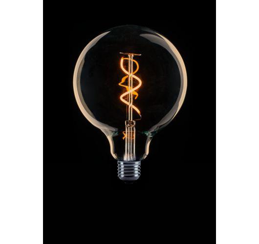 Led Spiraal 125MM Goud | 2W | Niet Dimbaar Ledlampen