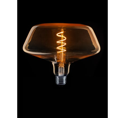Led Spiraal Filament XXL 2W model frustum goud flame (niet dimbaar) LED-lampen