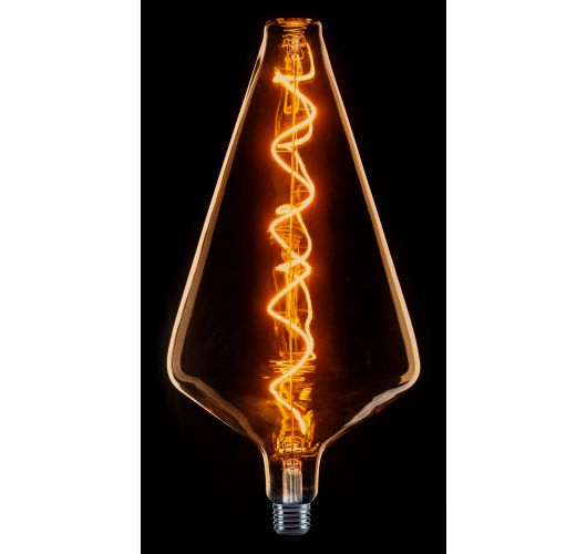 Led Spiraal Filament XXL model piramide flame dimbaar LED-lampen