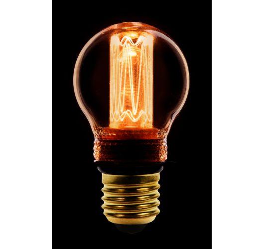 Led Kooldraad Kogel Goud | 2.3W | E27 | Dimbaar  Ledlampen