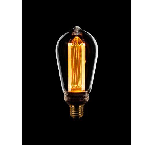 Led Kooldraad Sceneswitch Edison Helder | 5W/2.5W/1W LED-lampen