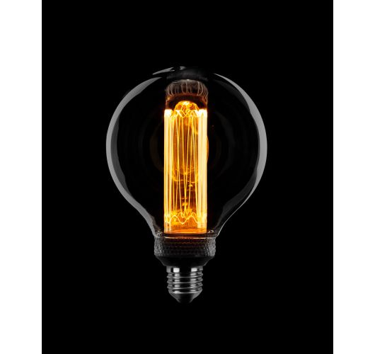 Led Kooldraad SceneSwitch Smoke | Globe 95mm | 3 standen 5w/2.5w/1w LED-lampen