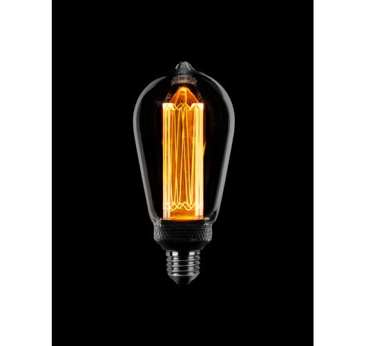 Led Kooldraad SceneSwitch Smoke | Edison | 3 standen 5w/2.5w/1w LED-lampen