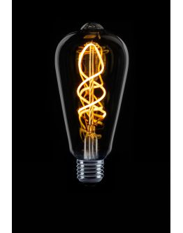 Led Spiraal Edison Smoke | 4W | Dimbaar