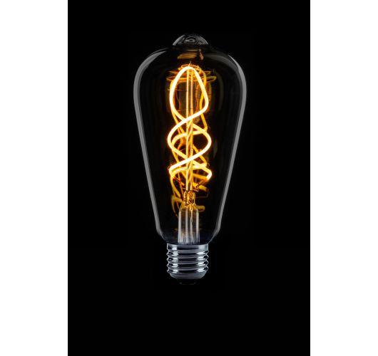 Led Spiraal Edison Smoke | 4W | Dimbaar Ledlampen