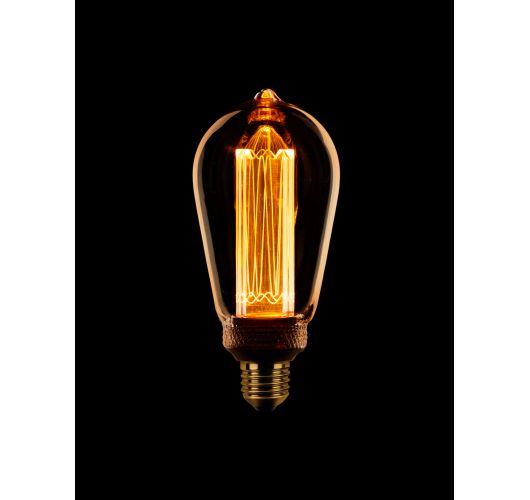 Led Kooldraad Sceneswitch Edison Goud | 5W/2.5W/1W LED-lampen