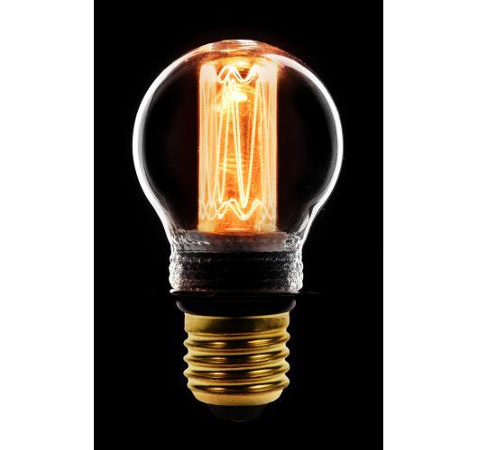 Led Kooldraad Kogel Helder | 2.3W | E27 | Dimbaar  Ledlampen