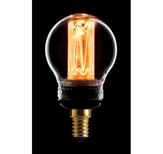 Led Kooldraad Kogel Helder | 2.3W | E14 | Dimbaar  Ledlampen