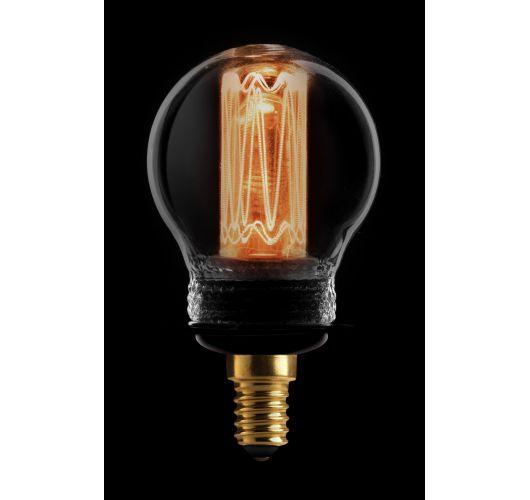Led Kooldraad Kogel Smoke | 2.3W | E14 | Dimbaar Ledlampen