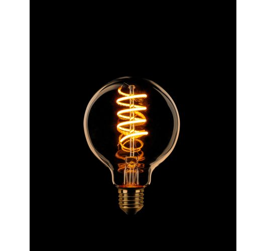 Led Spiraal 80MM Goud | 8W | Dimbaar Ledlampen