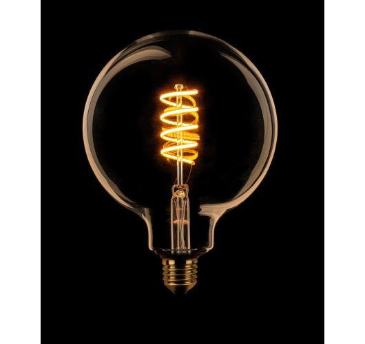 Led Spiraal 125MM Goud | 8W | Dimbaar Ledlampen