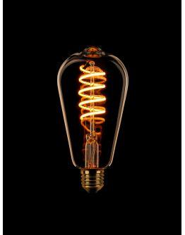 Led Spiraal Edison Goud | 8W | Dimbaar