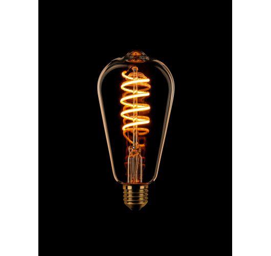 Led Spiraal Edison Goud | 8W | Dimbaar Ledlampen