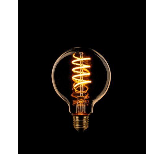 Led Spiraal Sceneswitch 80MM Goud | 7W/3.5W/1W Ledlampen