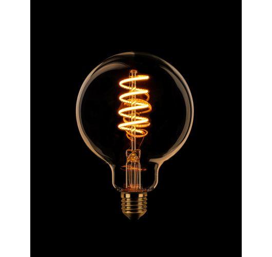 Led Spiraal Sceneswitch 95MM Goud | 7W/3.5W/1W Ledlampen