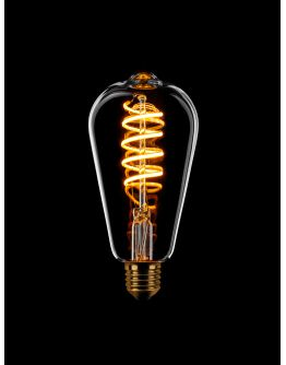 Led Spiraal Edison Helder | 8W | Dimbaar