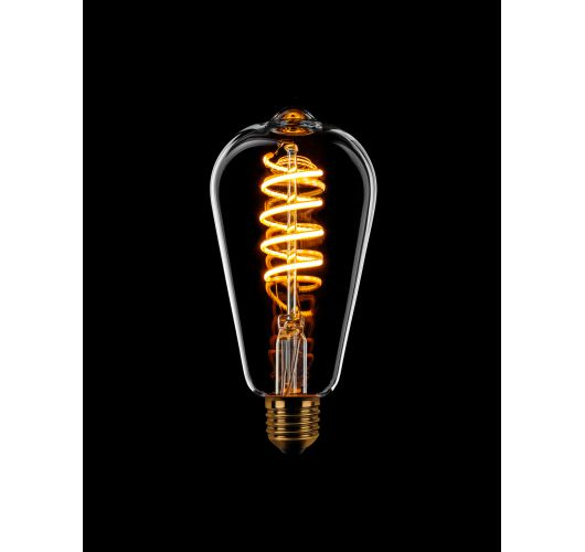 Led Spiraal Edison Helder | 8W | Dimbaar Ledlampen