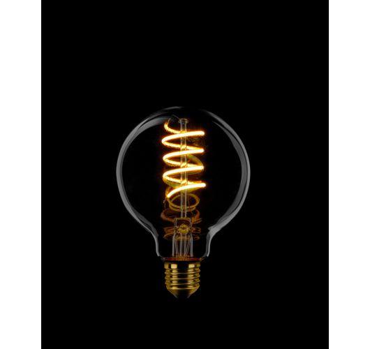 Led Spiraal 80MM Smoke | 7W | 3 stappen scene switch  Dimbaar Ledlampen