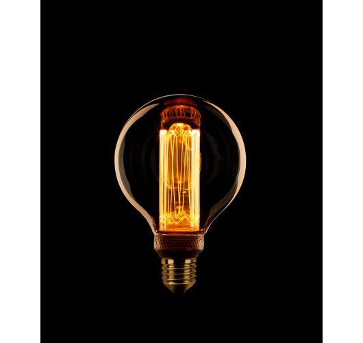 Led Kooldraad  Globe 80mm 3.5w E27 Dimbaar LED-lampen