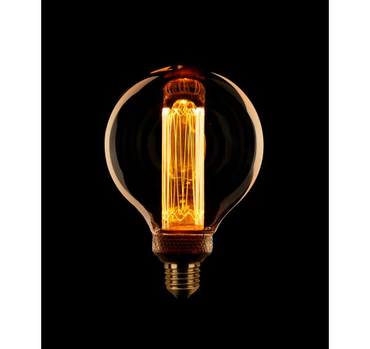 Led Kooldraad Globe 95mm 3.5w E27 Dimbaar LED-lampen